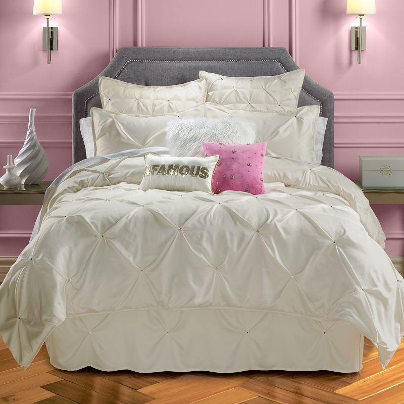 juicy couture pinch tuck coverlet