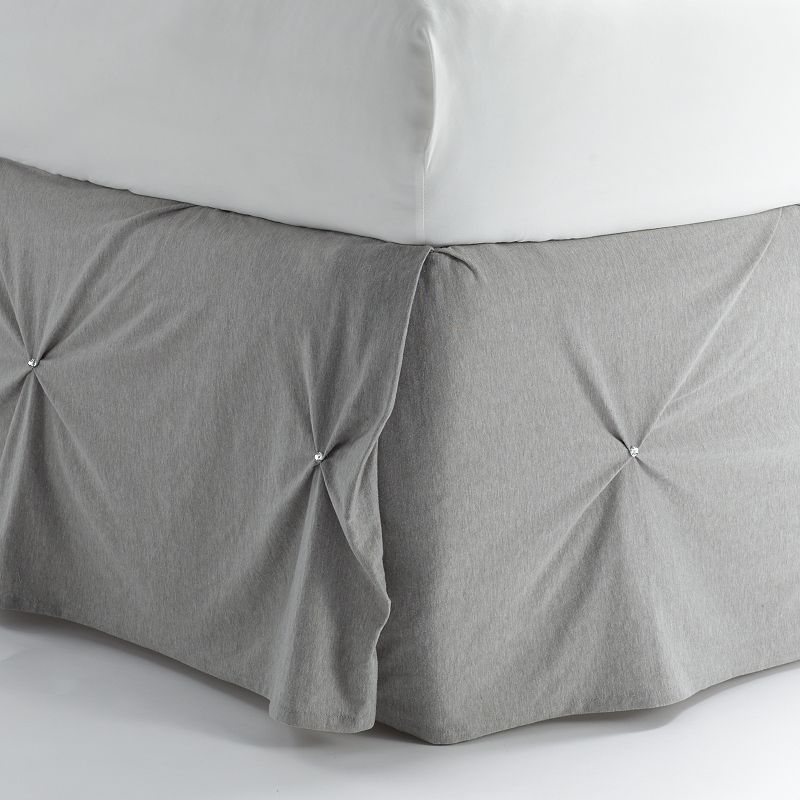Juicy Couture Pinch Tuck Bed Skirt