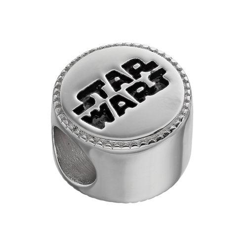 star wars sterling silver logo bead