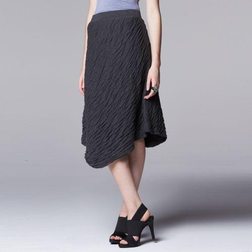 Women's Simply Vera Vera Wang Textured Wave Skirt