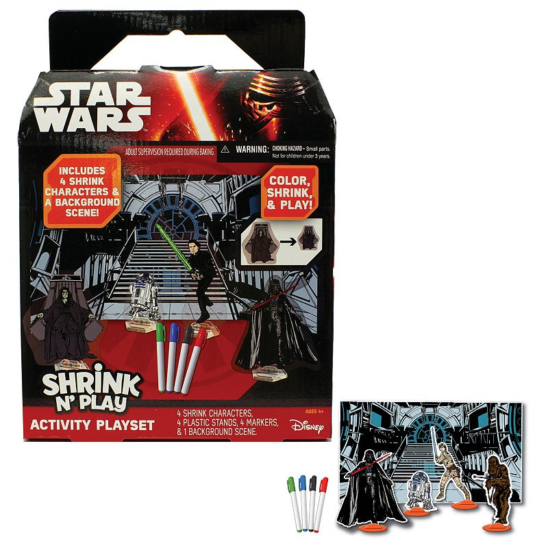 Star Wars: Episode VII The Force Awakens Shrink N' Play Activity Playset
