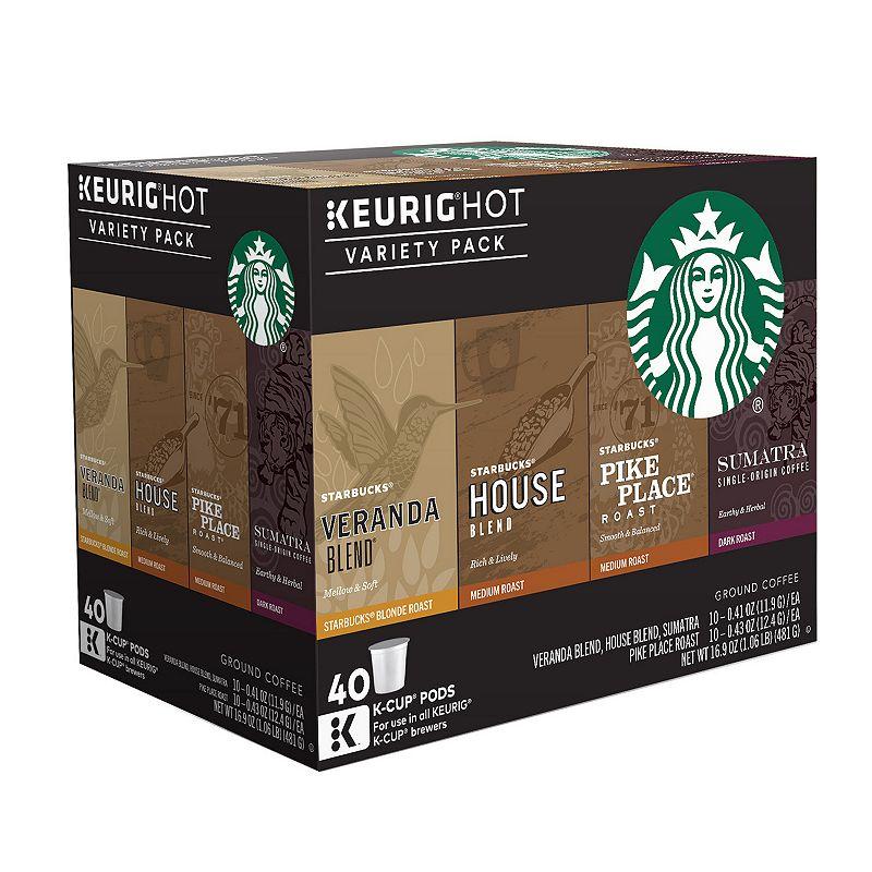 Keurig® K-Cup® Pod Starbucks Variety Pack - 40-pk.