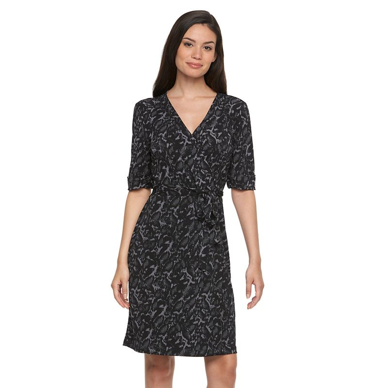 Plus Size Apt. 9® Faux-Wrap Dress