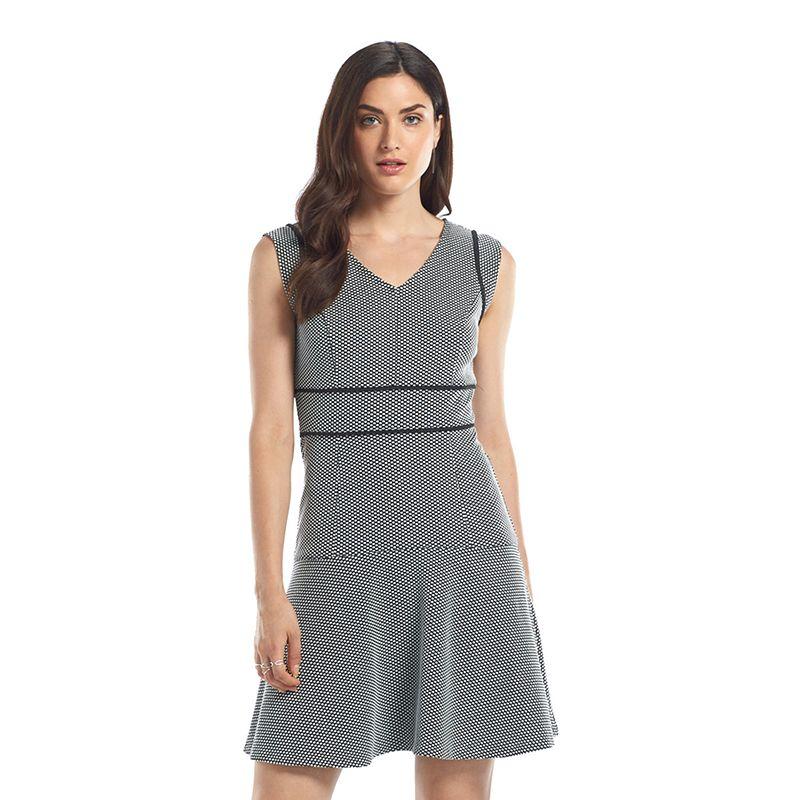 Women's ELLE™ Dot Jaquard Dress