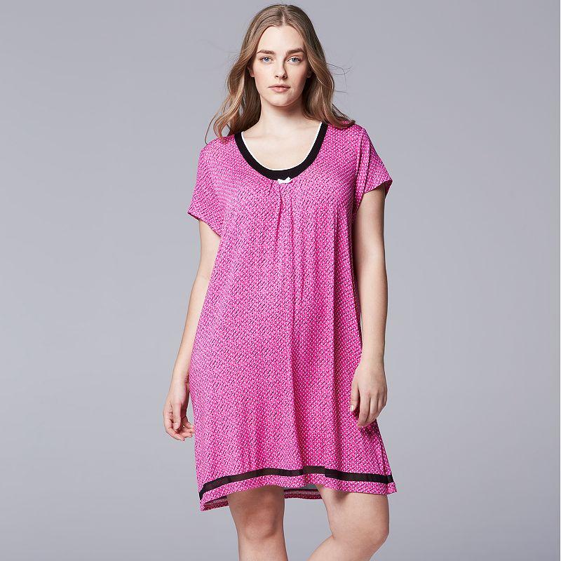 Gray Womens Nightgown Kohl S