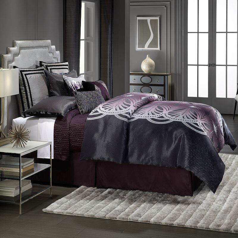 Jennifer Lopez bedding collection 4-pc. Marquee Comforter Set