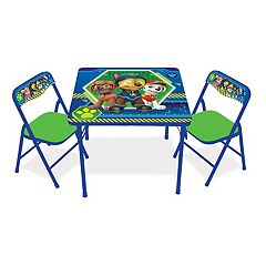 Paw Patrol Activity Table & Chairs Set by