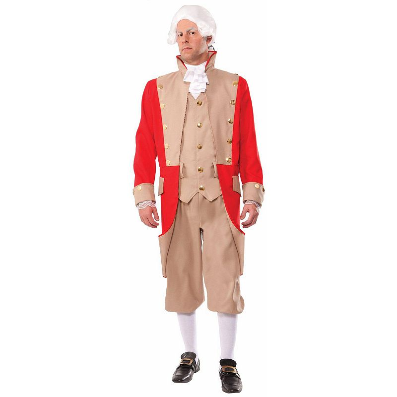 Red Coat Soldier Costume - Adult