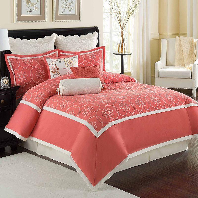 Williamsburg Ariana 4-pc. Reversible Comforter Set