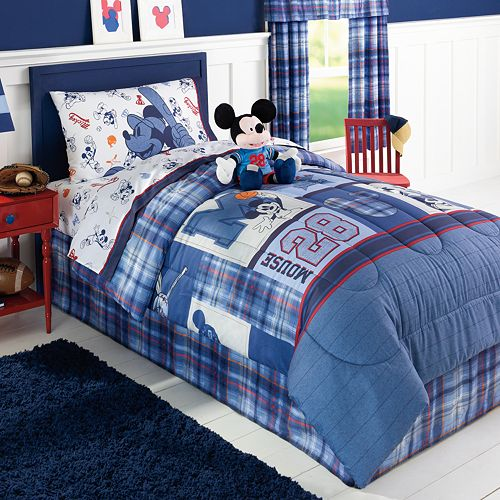 Kohls Royal Hotel Bathroom Towels: NEW DISNEY JUMPING BEANS MICKEY MOUSE SPORT TWIN COMFORTER