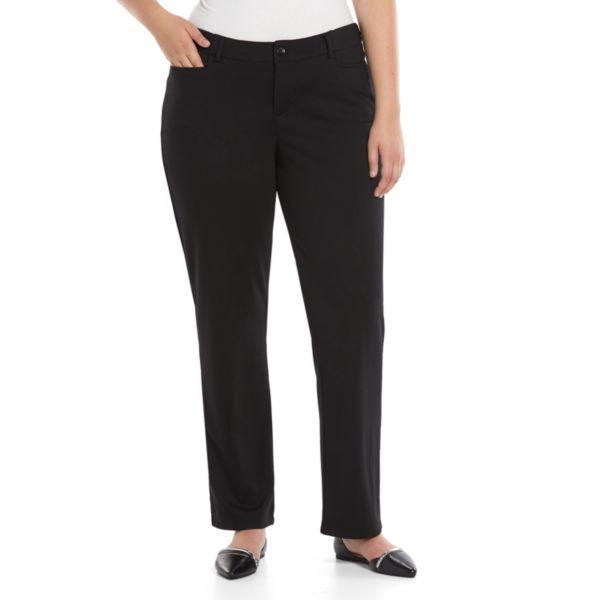 Plus Size Lee Callie Comfort Waist Straight-Leg Pants