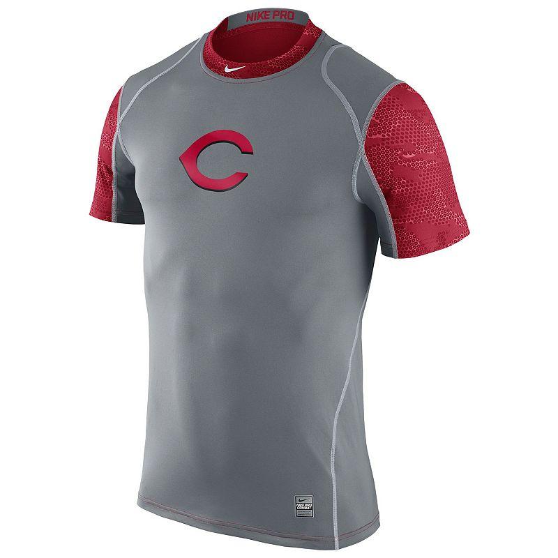 Men's Nike Cincinnati Reds Pro Cool Performance Top
