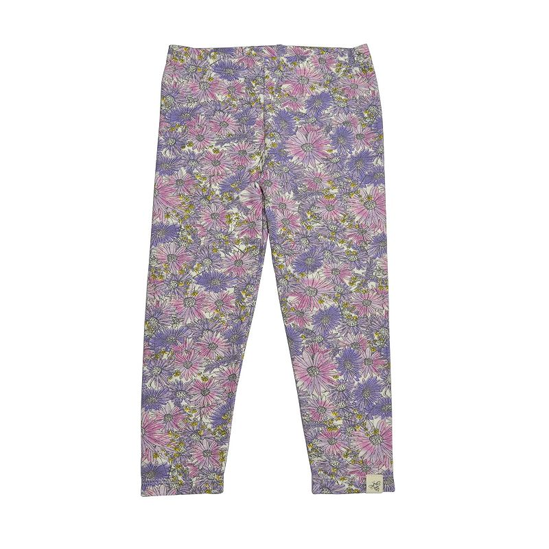 Toddler Girl Burt's Bees Baby Floral Leggings