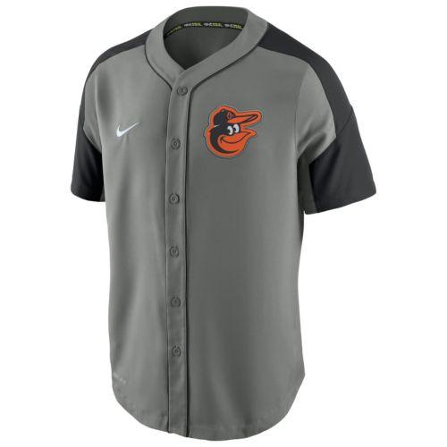 Men's Nike Baltimore Orioles Woven Jersey