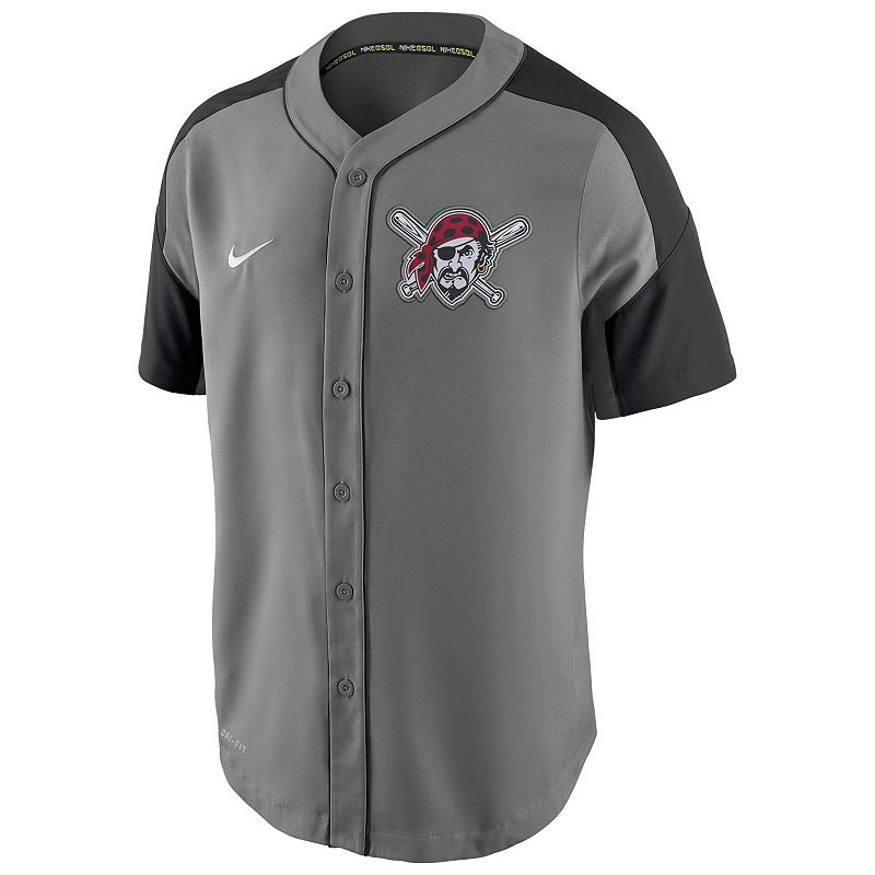 Men's Nike Pittsburgh Pirates Woven Jersey