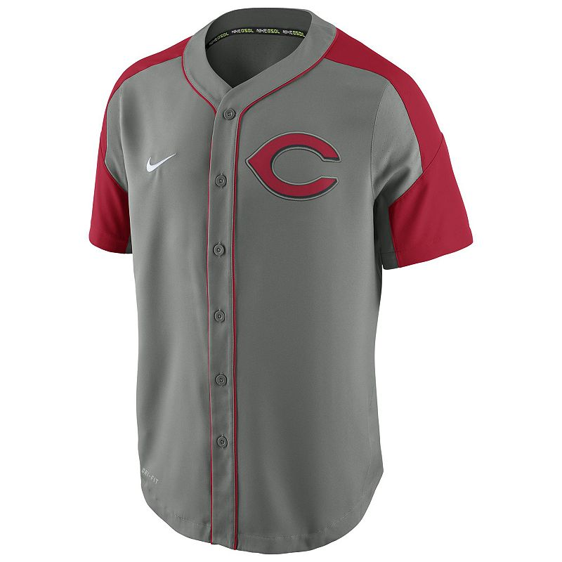 Men's Nike Cincinnati Reds Woven Jersey