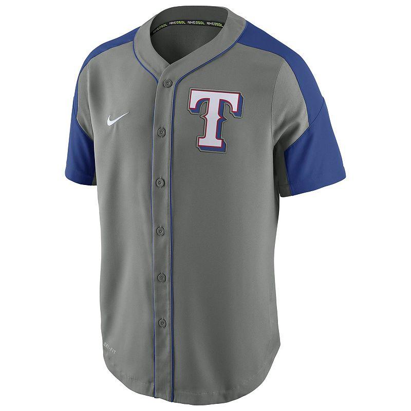 Men's Nike Texas Rangers Woven Jersey