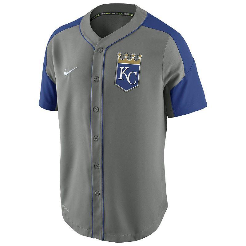 Men's Nike Kansas City Royals Woven Jersey
