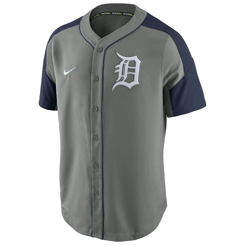 Men's Nike Detroit Tigers Woven Jersey