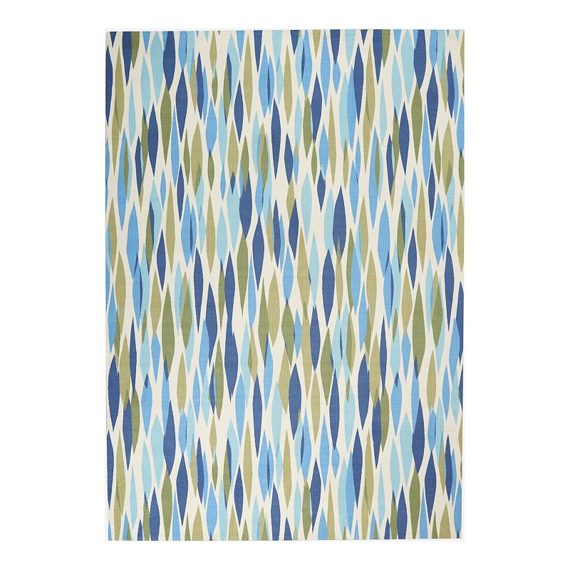 Waverly Sun N' Shade Abstract Indoor Outdoor Rug