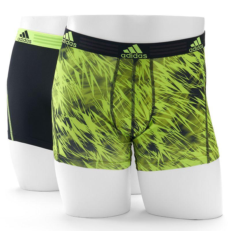 adidas 2-Pack ClimaLite Draven Print Trunk Briefs - Men