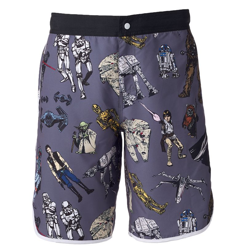 Men's Star Wars Character Board Shorts