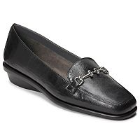 A2 by Aerosoles Elaborate Women's Wedge Slip-On Loafers