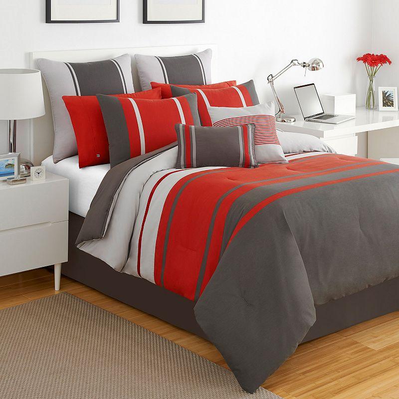 IZOD Beacon Stripe Comforter Set