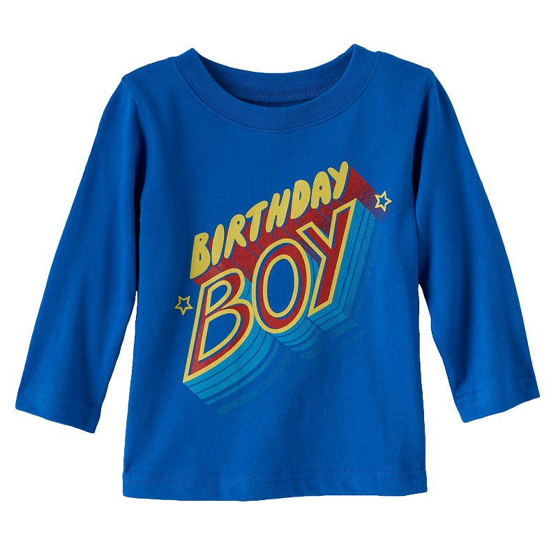 Baby Boy Jumping Beans® Birthday Graphic Tee