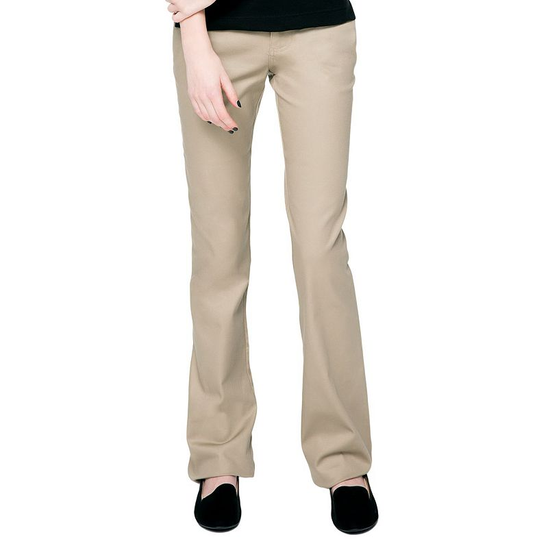 Juniors' Lee Uniforms Stretch Skinny Pants