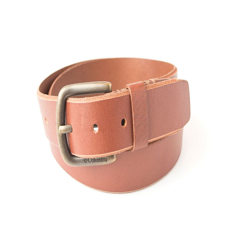 Men's Columbia Bridle Tab Leather Belt