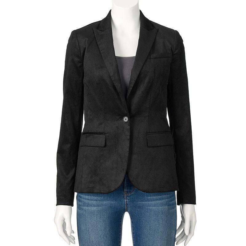 Women's Apt. 9® Velvet Blazer