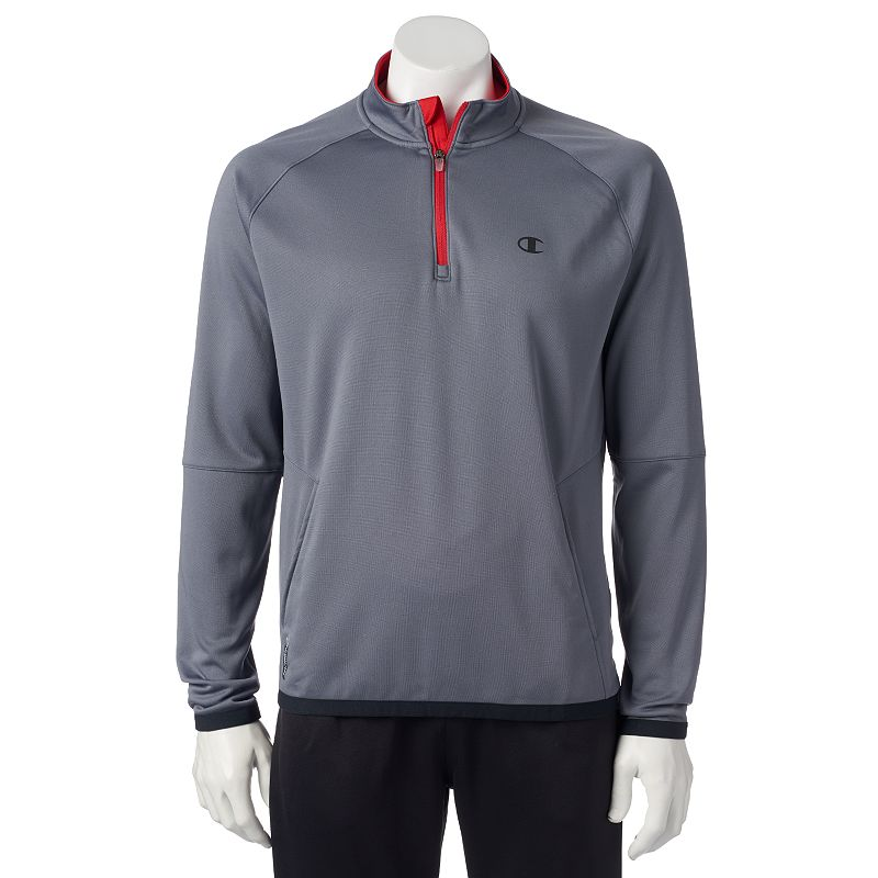 Men's Champion Quarter-Zip Tech Fleece Jacket