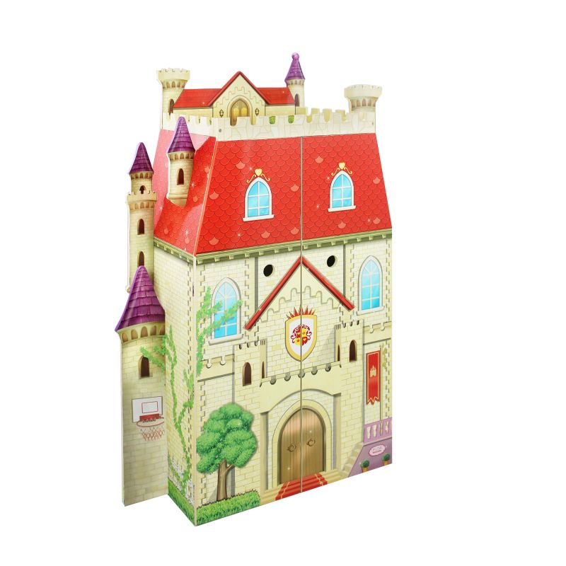 Fantasy Fields Fancy Castle Doll House, Multicolor