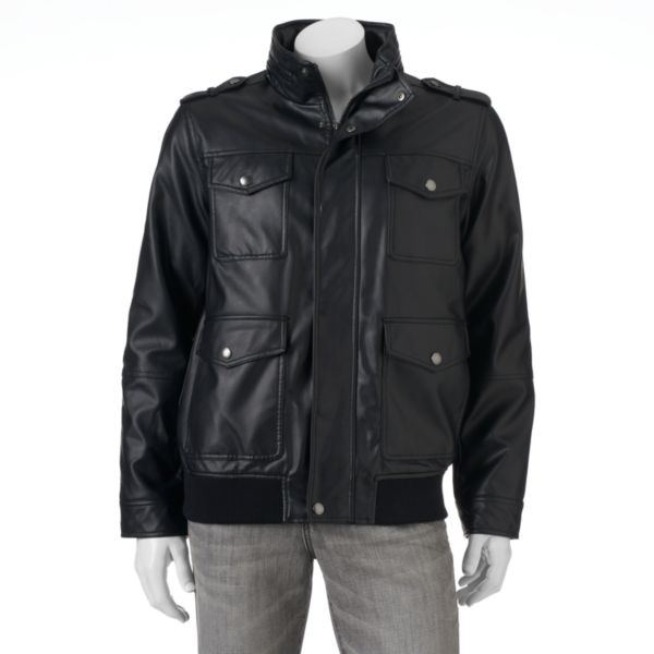 Men's Chaps 4-Pocket Bomber Jacket