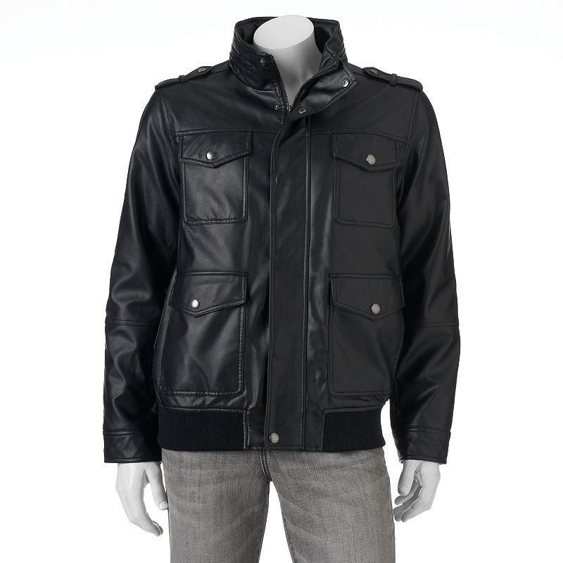 Men's Chaps 4-Pocket Bomber Jacket