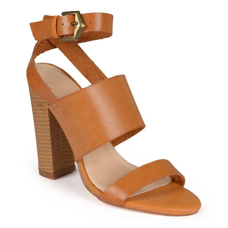 Journee Collection Sage Women's Slingback Heeled Sandals