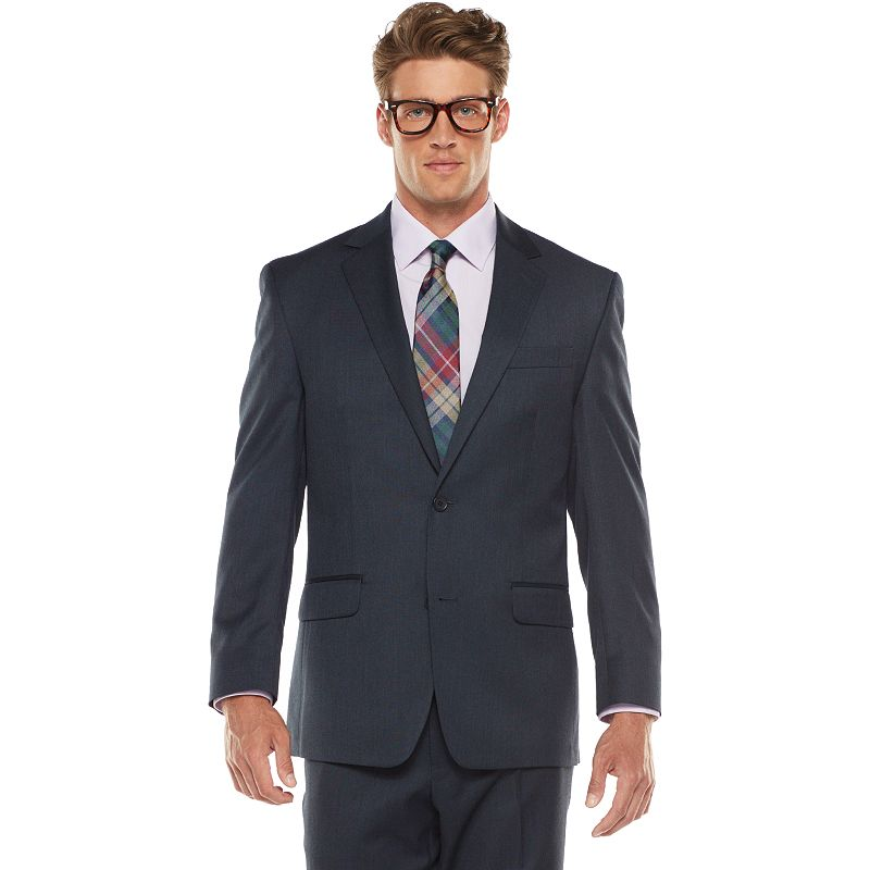 Big & Tall IZOD Classic-Fit Navy Suit Jacket