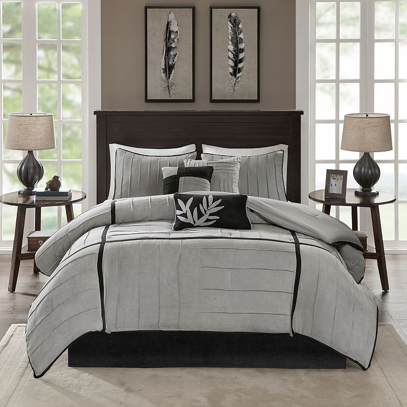 Madison Park Meyers 7-pc. Pintuck Comforter Set