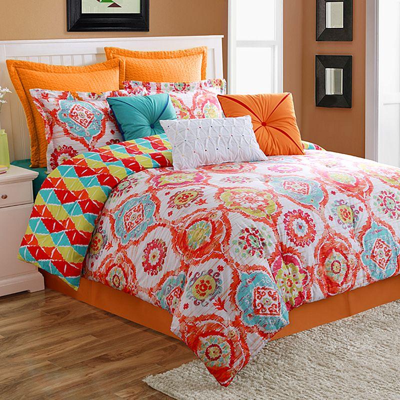 Fiesta Ava Reversible Comforter Set