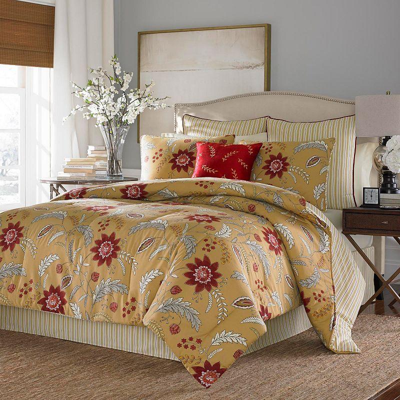 Stone Cottage Allegra 4-pc. Reversible Comforter Set