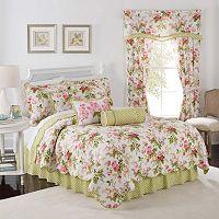 Waverly Emma's Garden Reversible Quilt Set