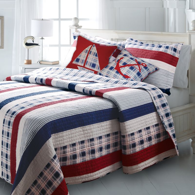 Nautical Striped Bedding Kohl S