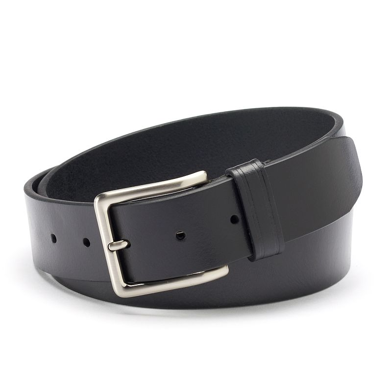 Dockers® Black Leather Belt - Men