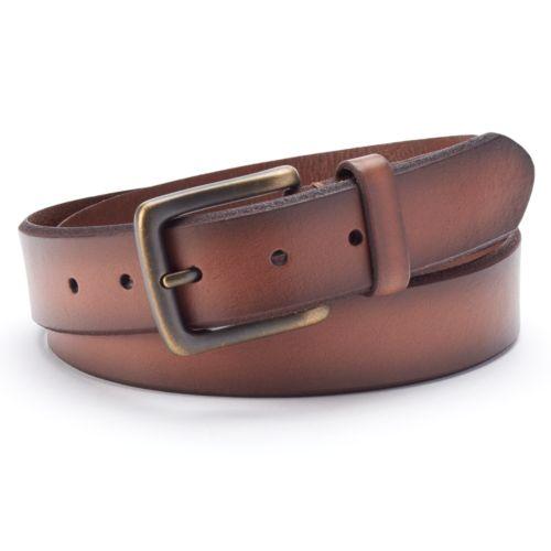 Dockers Tan Bridle Leather Belt - Men