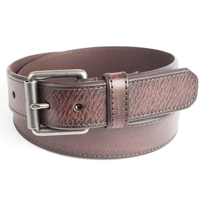 Men's Levi's Leather Roller-Buckle Belt