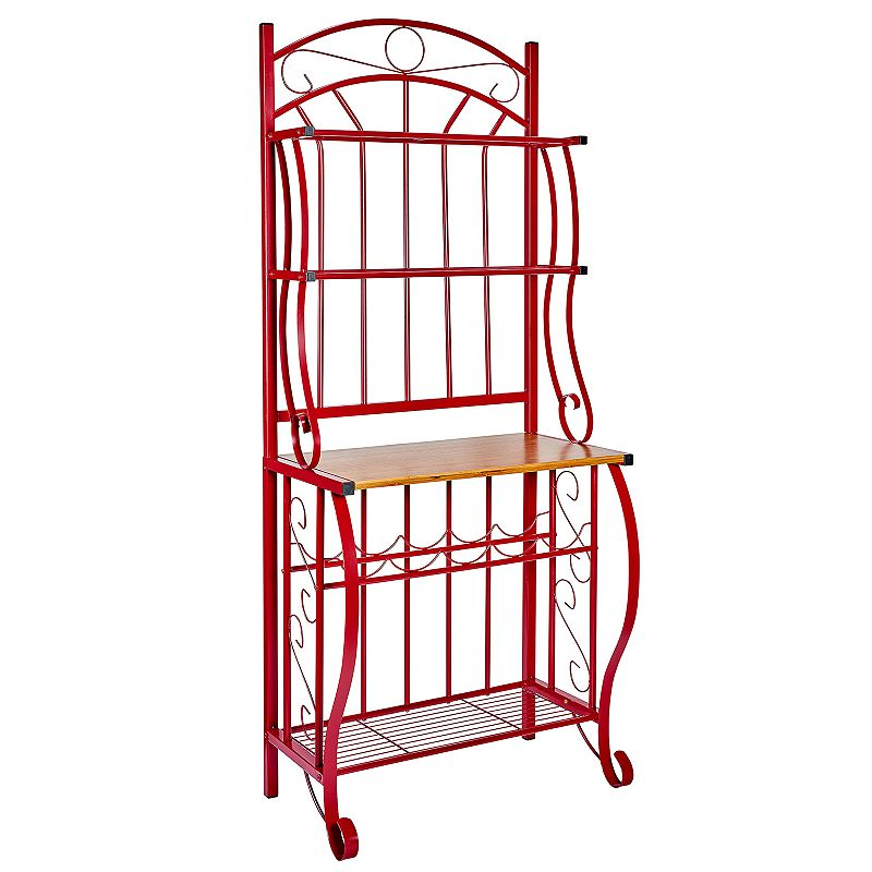 Old Dutch Red Baker's Rack