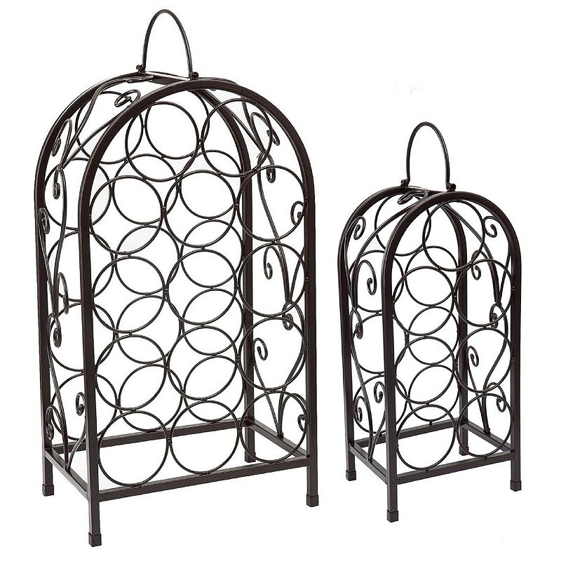 Old Dutch 2-pc. Nesting Wine Bottle Rack Set