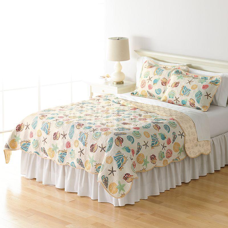 Home Classics® Sarah Ocean Medley Reversible Quilt