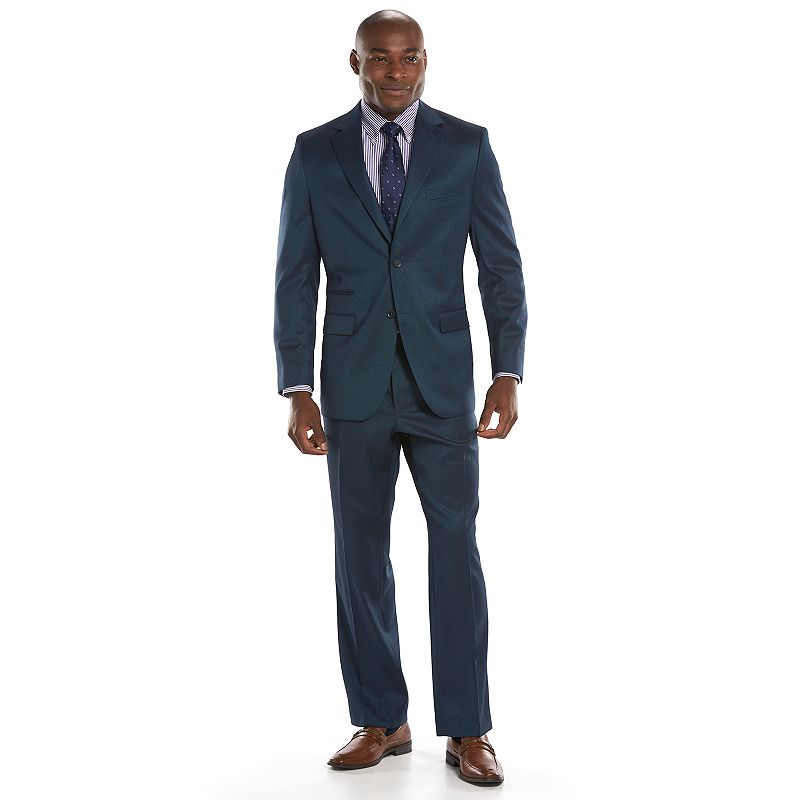 Men's Steve Harvey Classic-Fit Blue Suit Jacket